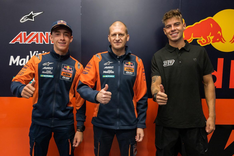 OFICIAL: Acosta dará el salto a Moto2 y Augusto Fernández será su compañero