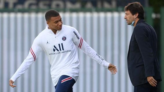Mbappé y Leonardo (vía Euroesport)