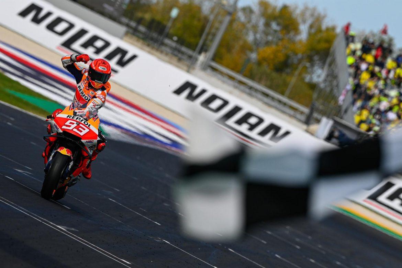 Márquez vence en Misano II, pero el protagonista es Fabio Quartararo, Campeón del Mundo de MotoGP